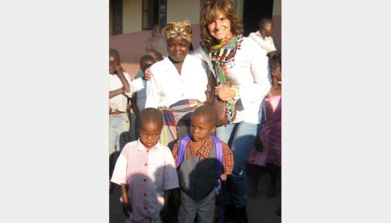 Margherita Bozzano in Mozambico