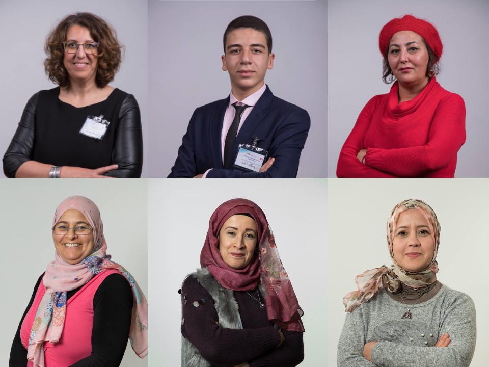 I ritratti di alcuni ambasciatori di pace
