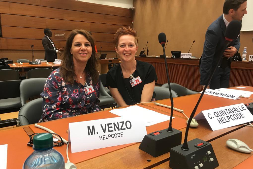 Martina Venzo e Chiara Quintavalle