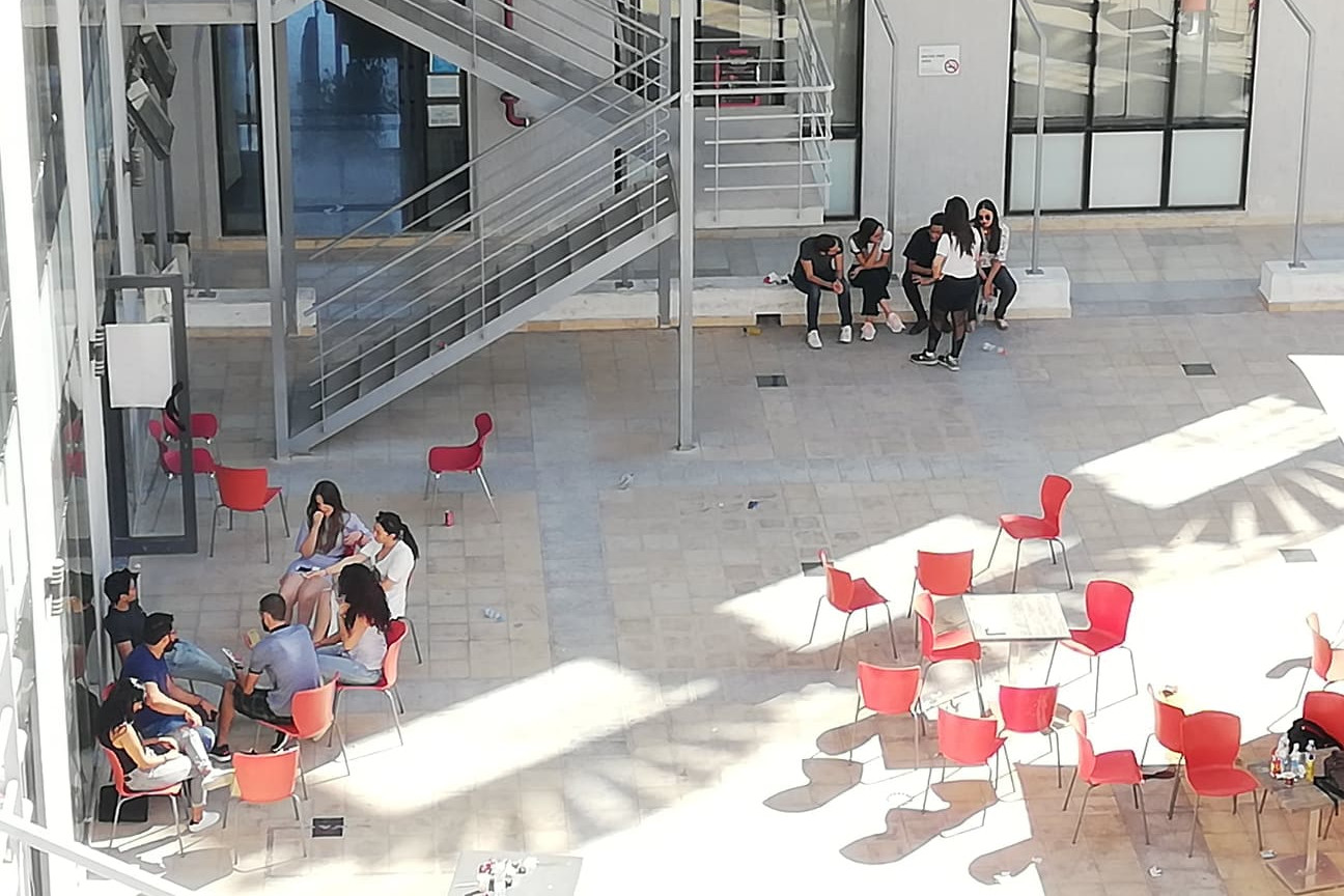 Una veduta dell'università di Tunisi
