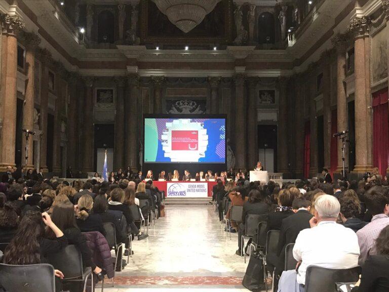 La cerimonia di apertura del GeMUN 2020