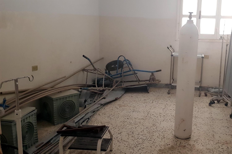 L'interno di un ospedale libico